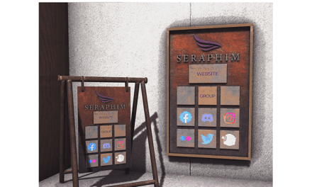New Seraphim Kiosks Available!
