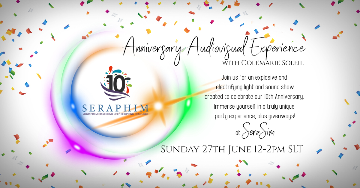 It's Show Time! Celebrate with Seraphim